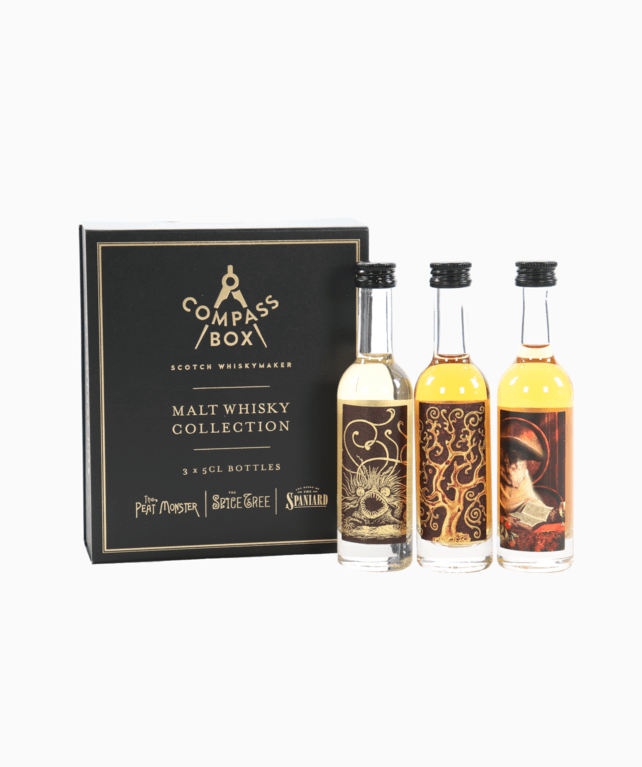 Compass Box - Malt Whisky Collection (3 x 5cl)